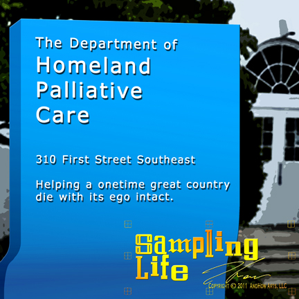 Department of Homeland Palliative Care Sampling Life Graphic