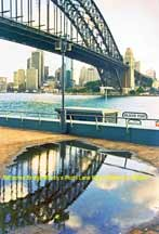 Reflected Bridge (Milson's Point-Luna Park)