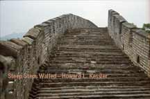 Steep Steps Walled